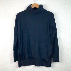 Madewell black cowl neck sweater, XS